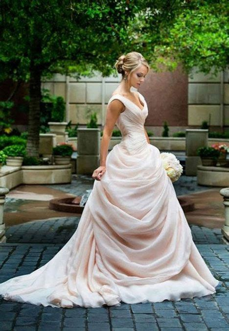 Ruched Draped Skirt Dress Fairytale Wedding Dresses 2146914 Weddbook