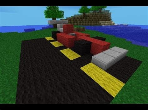 minecraft car pe how to make a race car in minecraft pe youtube
