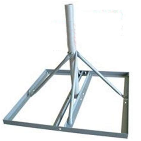 solid signal non penetrating roof mount for antennas and dishes sky32816 from solid signal