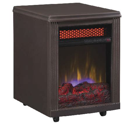 Duraflame Portable Fireplace by Duraflame Stanton Portable Infrared Quartz Fireplace