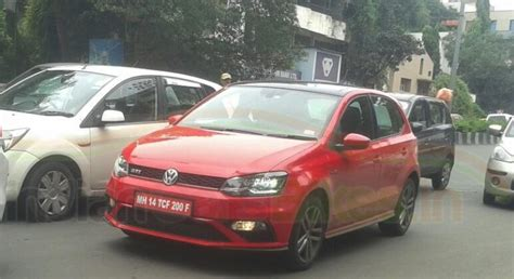 Polo Power Import spied india s fastest hatchback the volkswagen polo gti
