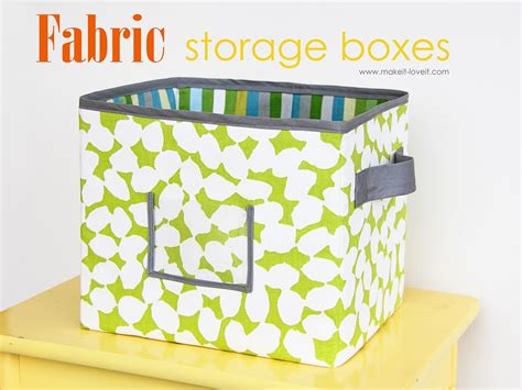 fabric storage boxes per your request make it and it