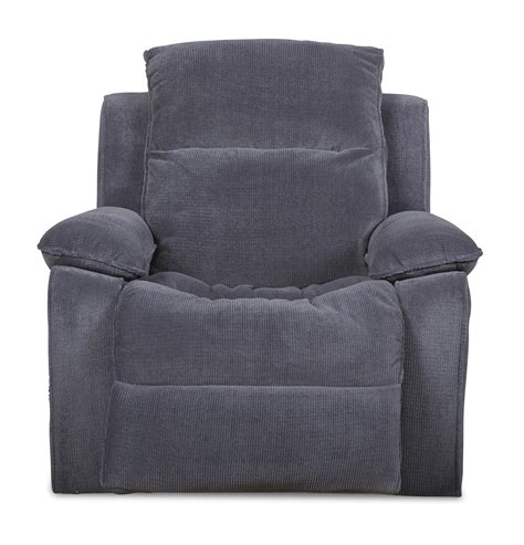 old brick recliners klaussner castaway casual reclining chair with bucket seat