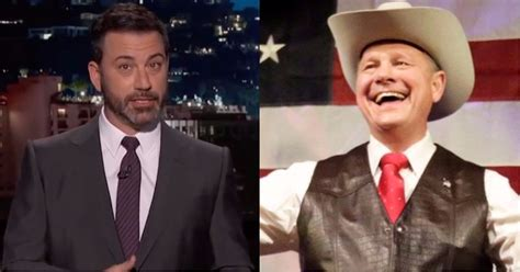 roy moore jimmy kimmel twitter roy moore picked a twitter fight with jimmy kimmel and we