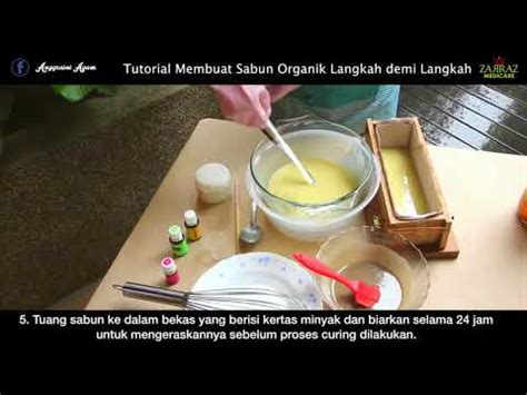 Sabun Gamas cara membuat sabun pepaya
