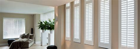 raambekleding lang smal raam shutters op maat jasno raamdecoratie shutters
