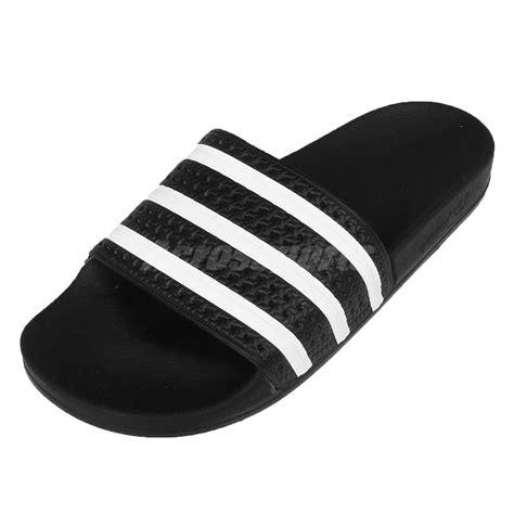 white slippers adidas adilette mens sports slides slippers sandals 3