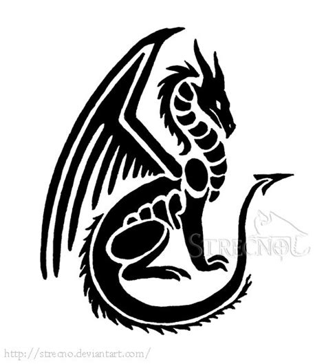 easy tattoo of dragon 576 best images about dragons black white on pinterest