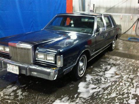 all car manuals free 1987 lincoln continental user handbook 1987 lincoln town car information and photos momentcar