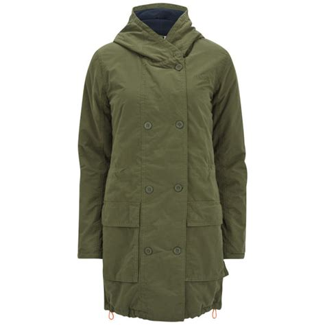 bench ladies parkas bench women s urban myth parka coat olive knight womens
