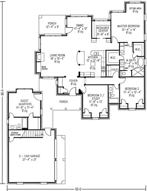 house plans with inlaw quarters 497 best images about house plans on house