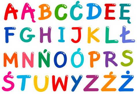 tutte le lettere dell alfabeto tutte le lettere dell alfabeto polacco impostato