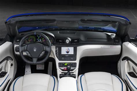 maserati granturismo convertible interior maserati granturismo mc centennial editions debut motor