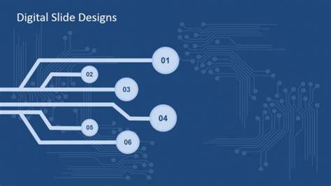 Digital Slide Design For Powerpoint Slidemodel Digital Powerpoint Template