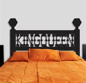 Headboard Wall Decal King Headboard Wall Decal Removable Wall Stickers And Wall Decals