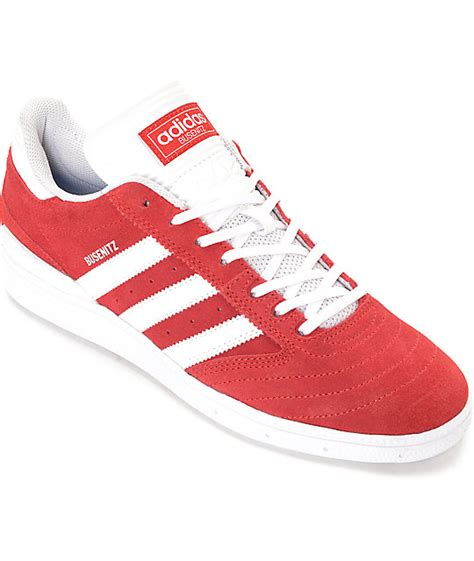 adidas red shoes adidas busenitz red white suede shoes zumiez