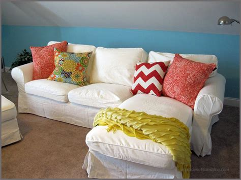 slipcovers by mail why i love my white ikea furniture slipcovers sparkles