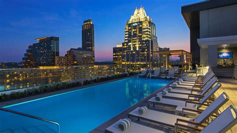 top bars in austin tx austin rooftop pool the westin austin downtown