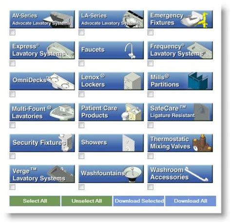 download free bradley revit bim library 1000 revit