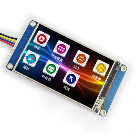 Nextion 2 8 Hmi Uart Lcd Tft Touchscreen 320x240px For Arduino Rasp uart lcd display reviews shopping uart lcd