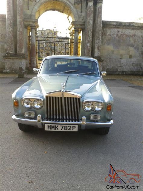 1976 rolls royce silver shadow 1a low mileage