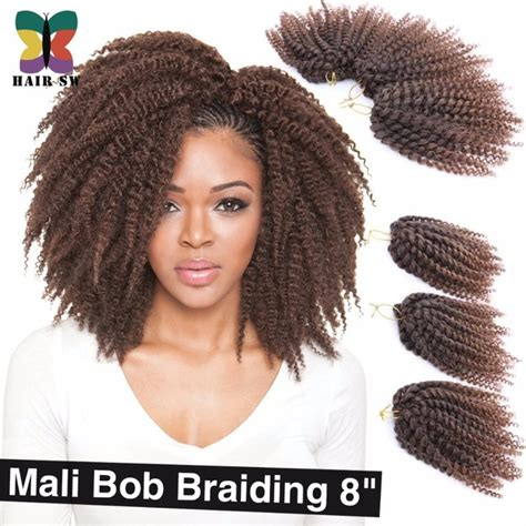 bob marley hair crochet braids aliexpress com buy 3pcs lot ombre wand curls mali bob