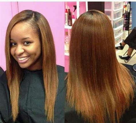 long straight sew in hairstyles   HairStyles