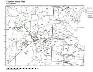 Spokane Zip Code Map by Wa Zip Code Map