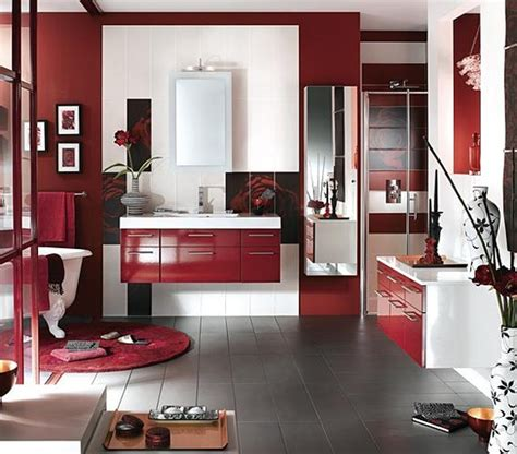 red bathroom ideas 39 cool and bold red bathroom design ideas digsdigs