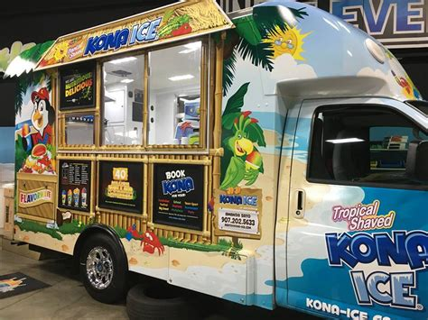 kona ice  anchorage anchorage food trucks roaming hunger