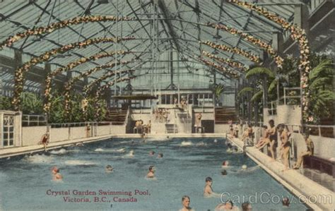 crystal garden swimming pool victoria bc canada british