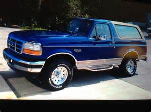 1996 Ford Bronco Eddie Bauer For Sale Purchase Used 1996 Ford Bronco Eddie Bauer In Easley