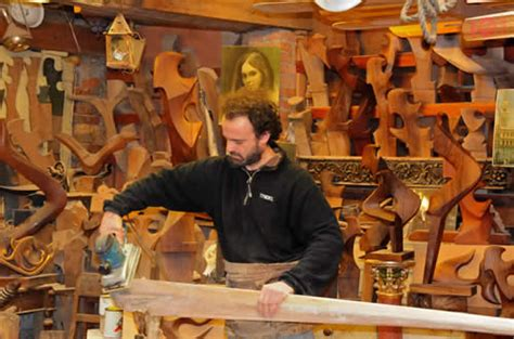 master woodworker talking photography