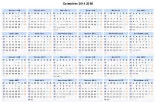 Calendrier A Imprimer Gratuit Calendrier 2014 Gratuit 224 Imprimer