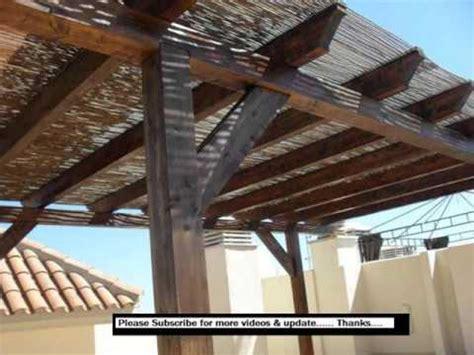 pergola  roof design ideas pictures youtube