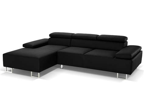 canape angle luxe canap 233 d angle cuir luxe italien noir angle gauche
