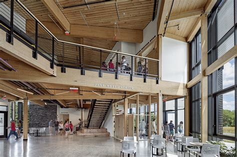 The R.W. Kern Center's Minimalist Timber Structure