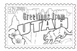 utah coloring pages download