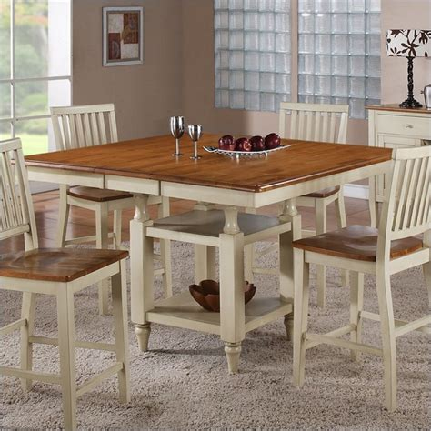 steve silver company candice counter dining table with