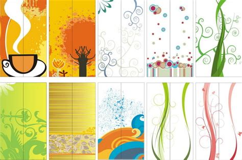 floral pattern vector background cdr file download for glass door background pattern vector graphics free vector