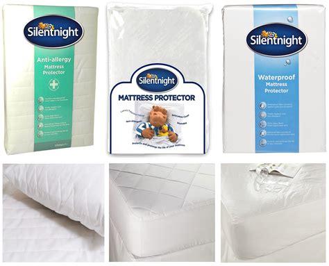 materasso antiallergico silentnight letto materasso protettore antiallergico