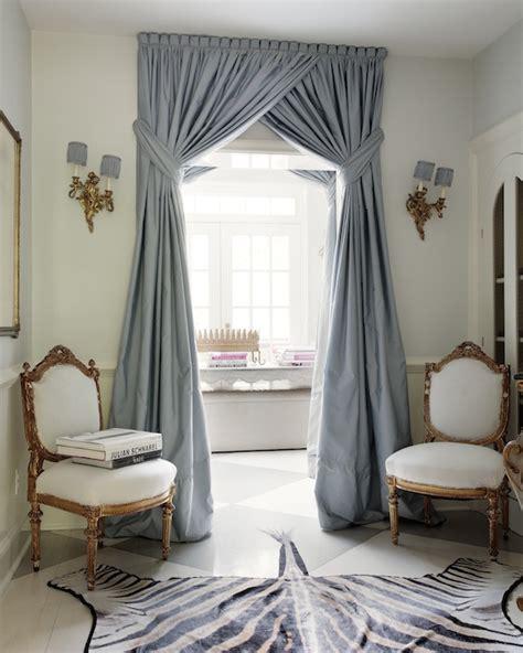 foyer window curtains blue curtains french entrance foyer suellen gregory
