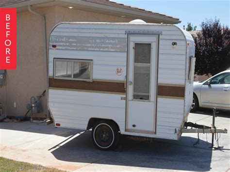 trailer for after before after a vintage trailer gets a makeover from