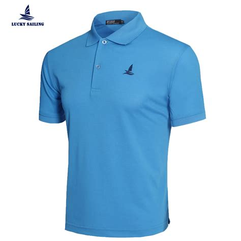 boat clothes brands aliexpress buy lucky sailing 2016 solid polo men