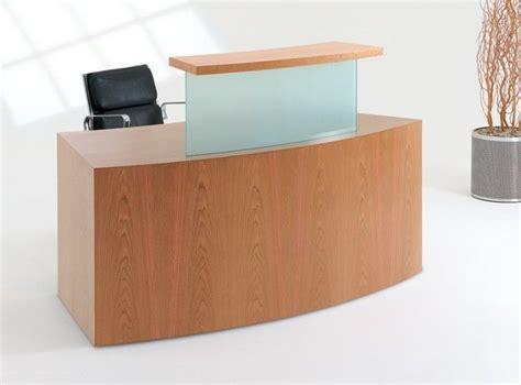 Compact Reception Desk Reception Desk Classic B1 Compact Flush Plinth Reality