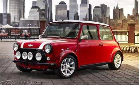 Mini Auto Classic mini converts classic cooper into a retro electric hatch