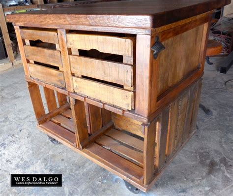 rustic pallet kitchen island cart 21 best images about crates on kitchen island cart pallet buster and crates