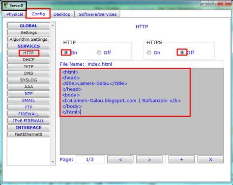 membuat jaringan vpn di cisco membuat server http pada jaringan cisco packet tracer
