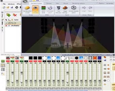 light software disco impression light show i dj disco sound lighting