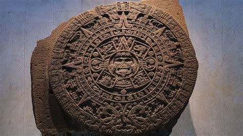 Aztec Calendar File Aztec Calendar In National Museum Of
